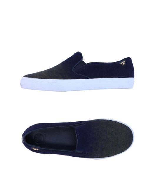 Tory Burch - Blue Low-tops & Sneakers - Lyst