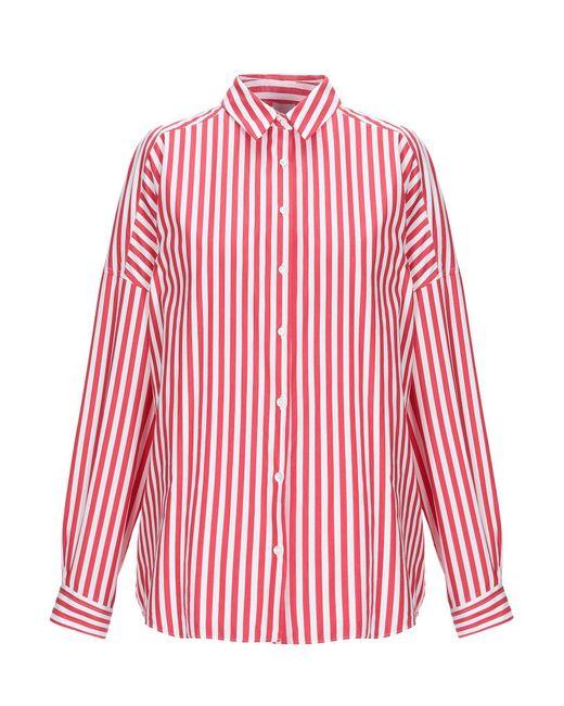 Aspesi Camicia da donna di colore rosso