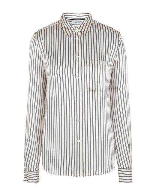 Calvin Klein Camicia da donna di colore bianco