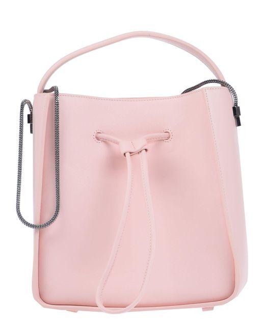Borsa a spalla di 3.1 Phillip Lim in Pink