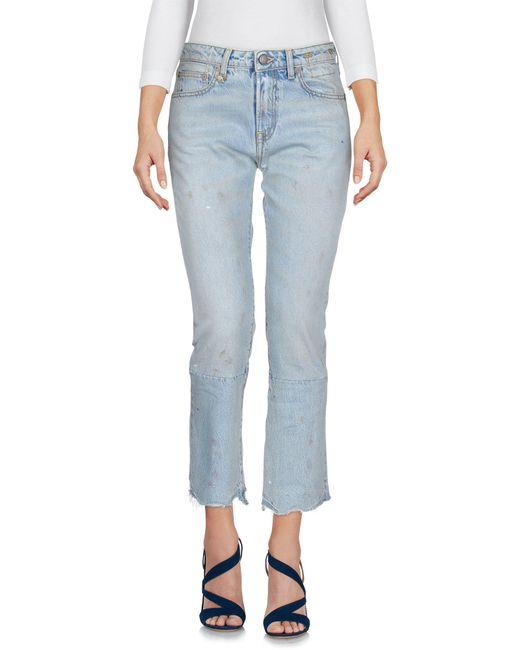 R13 Blue Jeanshose