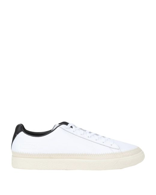 PUMA White Low-tops & Sneakers for men