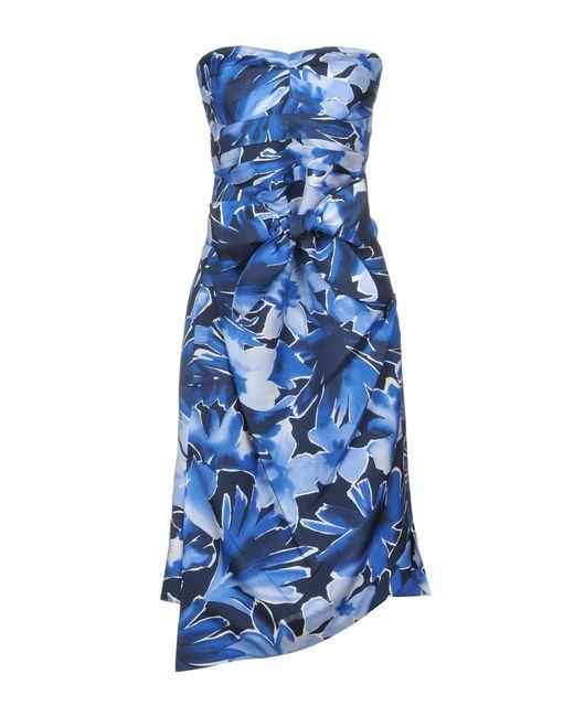 Michael Kors Blue Knee-length Dress