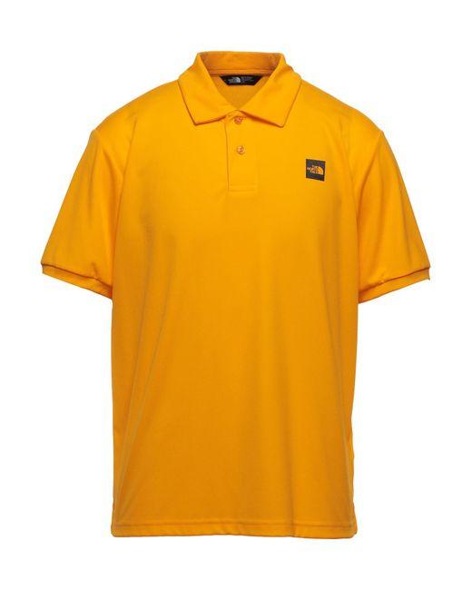 Polo di The North Face in Orange da Uomo