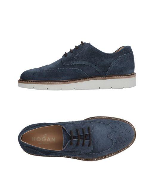 Chaussures à lacets Hogan pour homme en coloris Blue