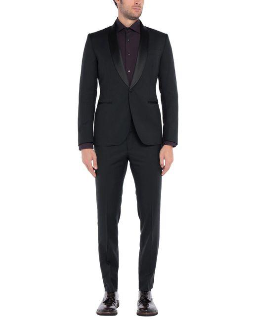 Tombolini Anzug in Black für Herren