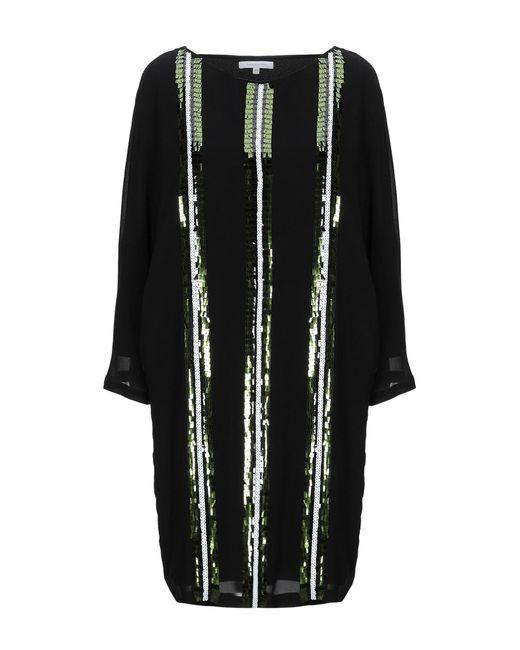 Patrizia Pepe Black Short Dress