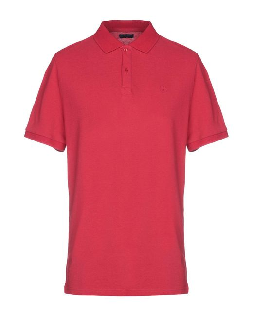 AT.P.CO Red Polo Shirt for men