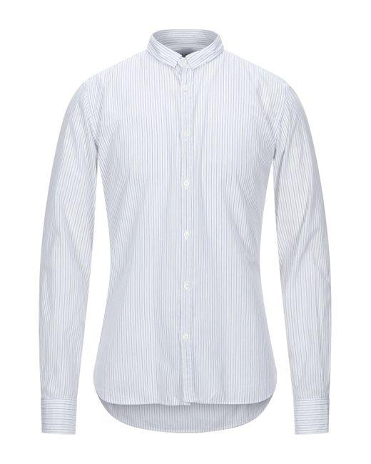 Aglini Camicia da uomo di colore bianco