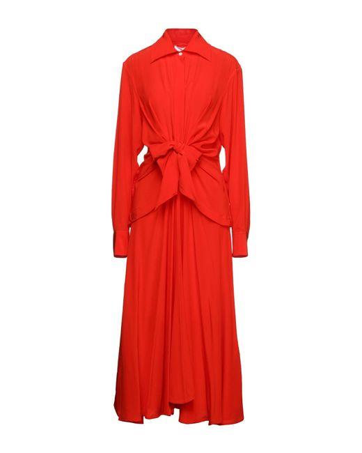 Vestito longuette di Victoria Beckham in Red