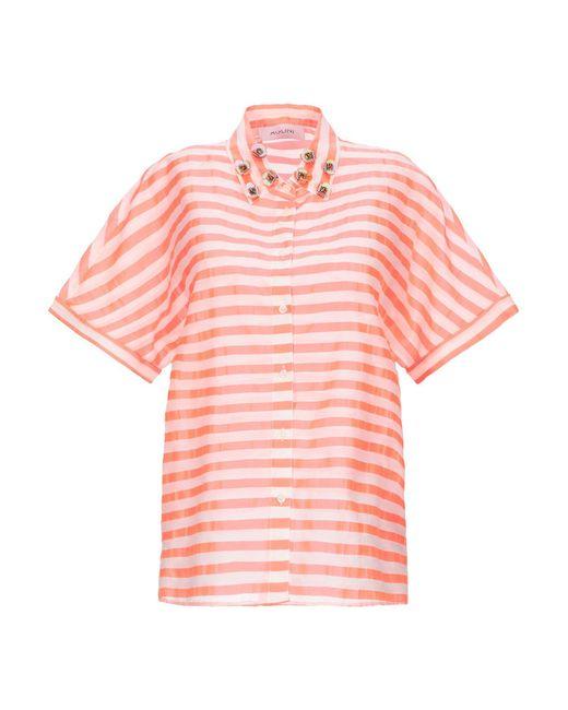 Aglini Camicia da donna di colore rosa