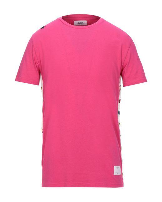Saucony T-shirt da uomo di colore rosa