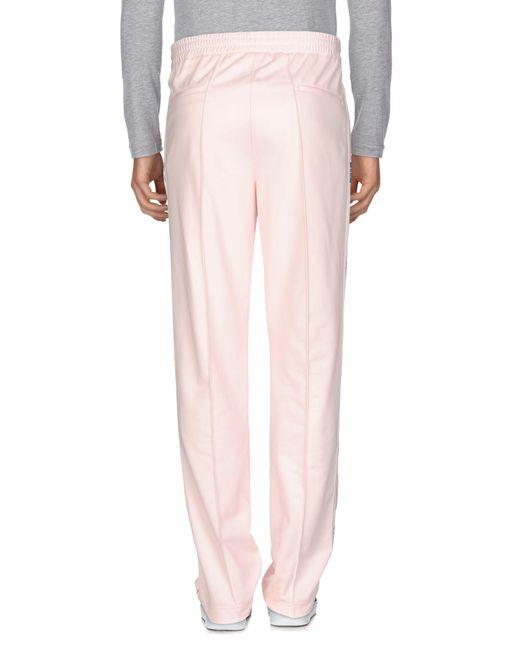 MSGM Pantalon homme de coloris rose gQ5gp