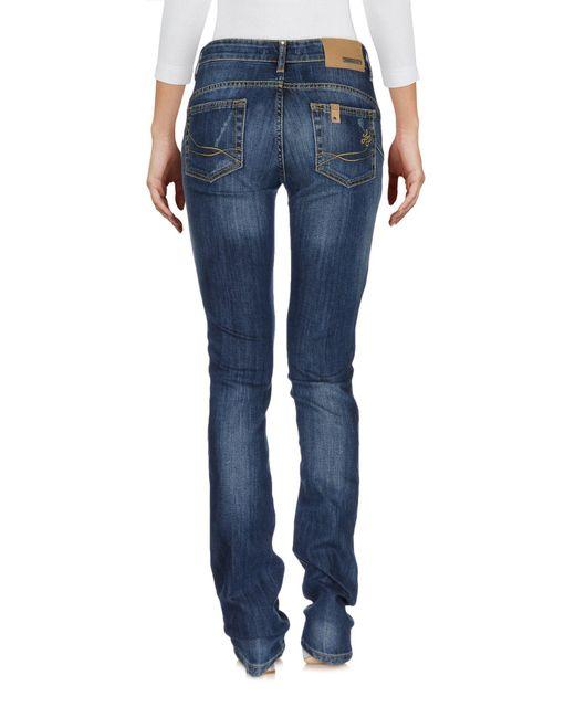 Liu Jo Pantalon en jean femme de coloris bleu