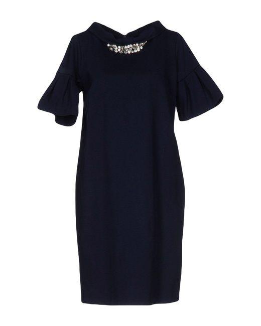 Blugirl Blumarine Blue Short Dress