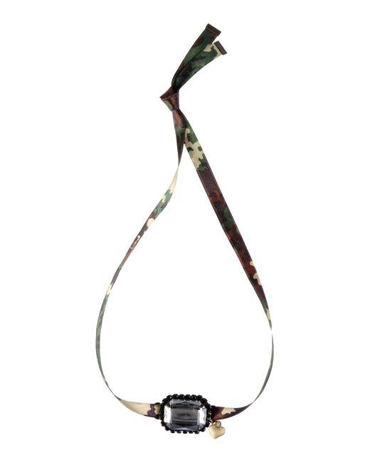 Mercantia | Green Necklace | Lyst