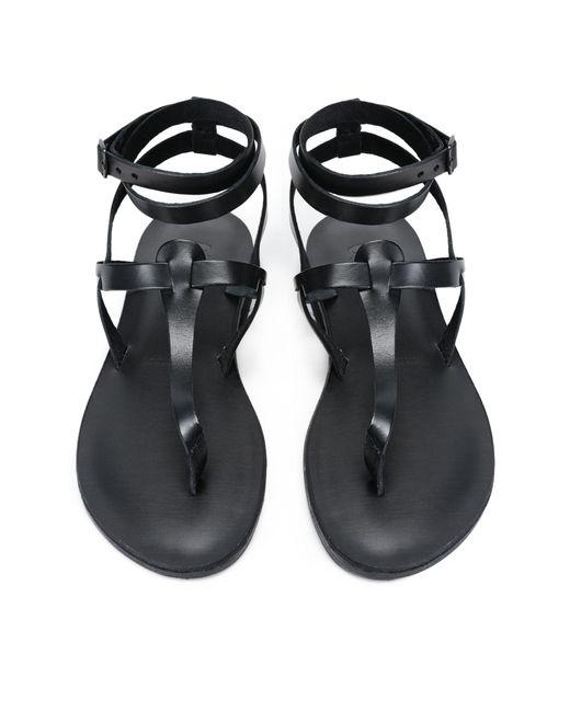 Sandalias de dedo 8 by YOOX de color Black