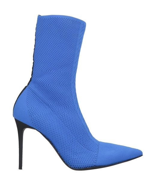 Pinko Blue Ankle Boots