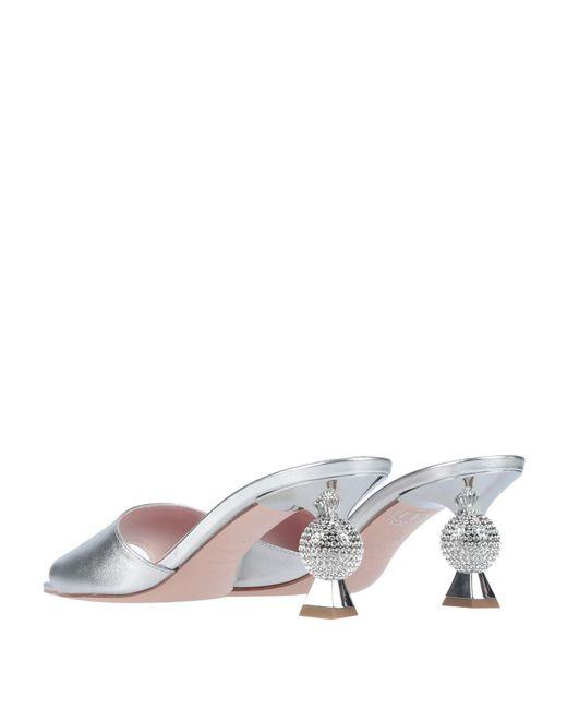 Roger Vivier Metallic Sandals