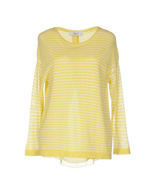 Blugirl Blumarine | Yellow Sweater | Lyst