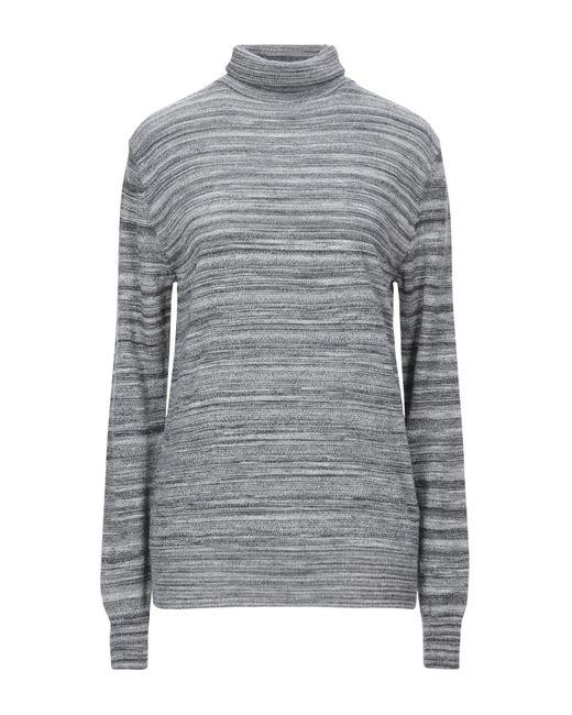 Obvious Basic Gray Turtleneck