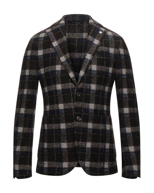 L.b.m. 1911 Brown Suit Jacket for men