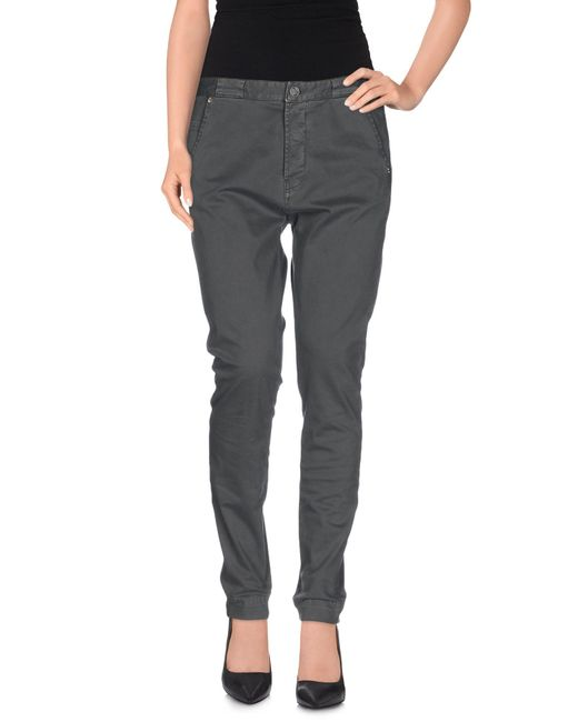 Ra-re - Gray Casual Pants - Lyst