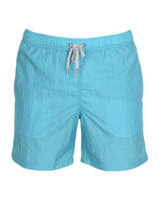 Aspesi - Blue Swim Trunks for Men - Lyst