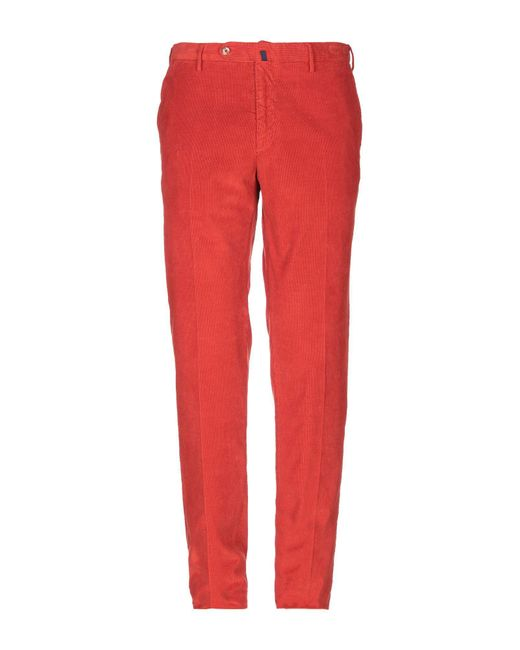 Pantalone di Incotex in Red da Uomo