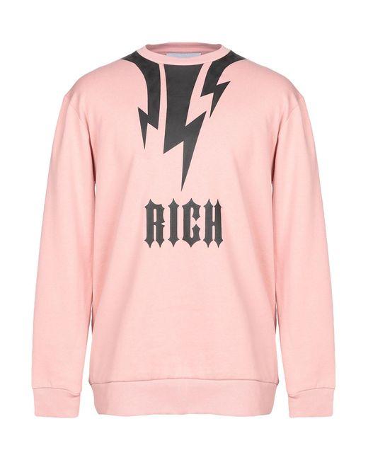 John Richmond Sweatshirt in Pink für Herren