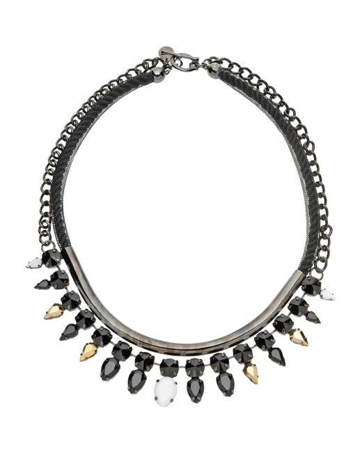 Persy - Black Necklace - Lyst