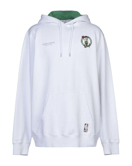 Marcelo Burlon Sweatshirt in White für Herren