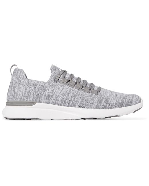 APL Shoes Gray Low-tops & Sneakers for men