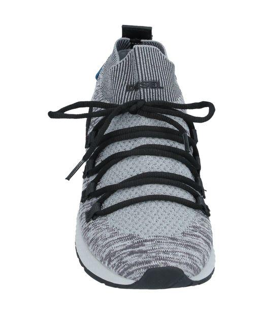 DIESEL Low Sneakers & Tennisschuhe in Gray für Herren