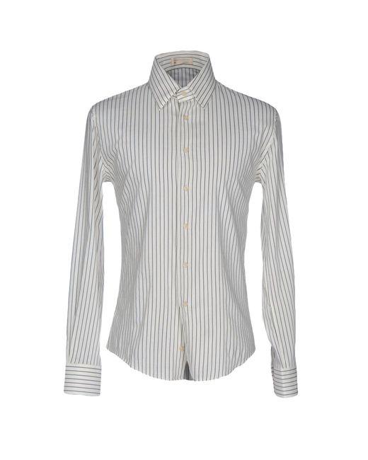 Fabio Di Nicola - White Shirts for Men - Lyst