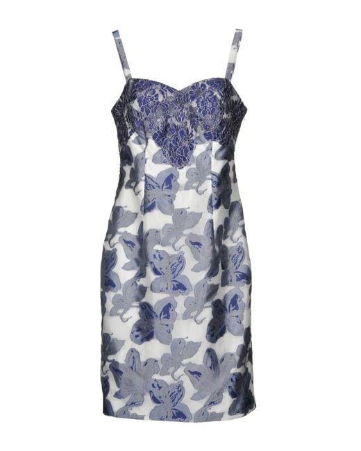 Bagatelle - Blue Knee-length Dress - Lyst