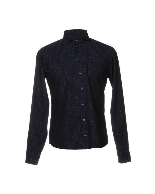 Exibit - Blue Shirts for Men - Lyst
