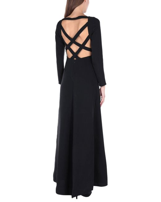 Valentino Black Langes Kleid