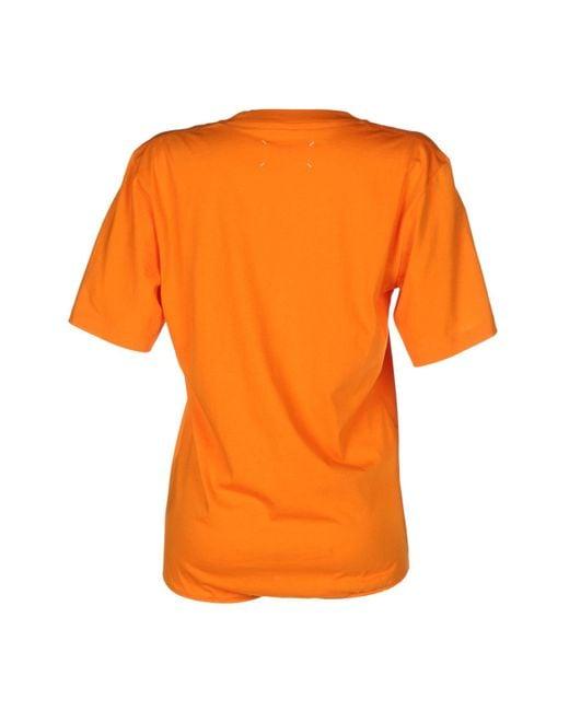 T-shirt Maison Margiela en coloris Black