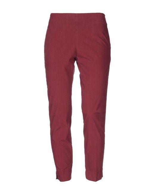 Pantalon Maliparmi en coloris Red