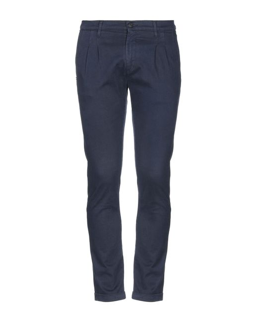 Pantalones Grey Daniele Alessandrini de hombre de color Blue