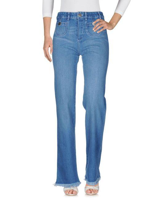 Chloé Blue Denim Pants