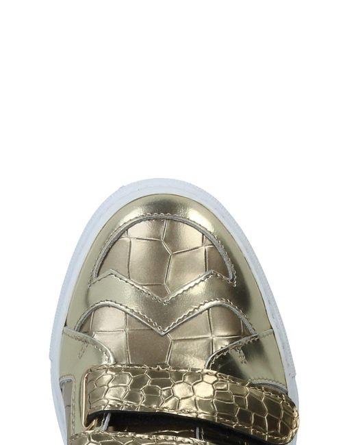 Just Cavalli Metallic Low-tops & Sneakers
