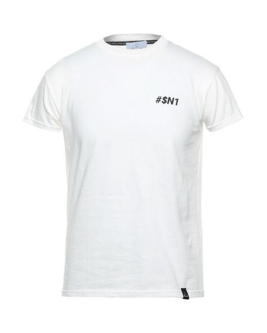 Camiseta Berna de hombre de color White