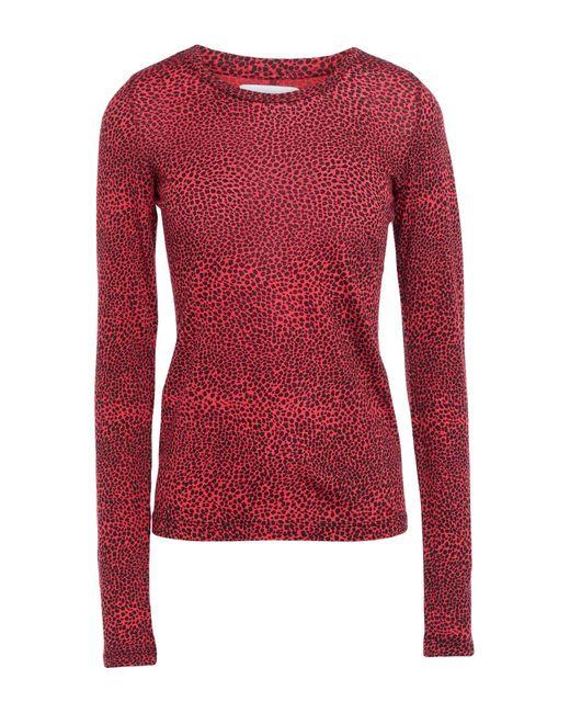 Current/Elliott T-shirt da donna di colore rosso