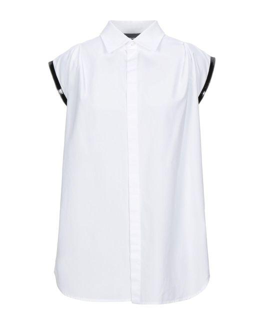 DSquared² Camicia da donna di colore bianco