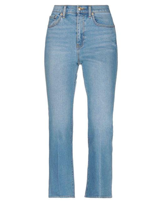 Tory Burch Blue Denim Pants