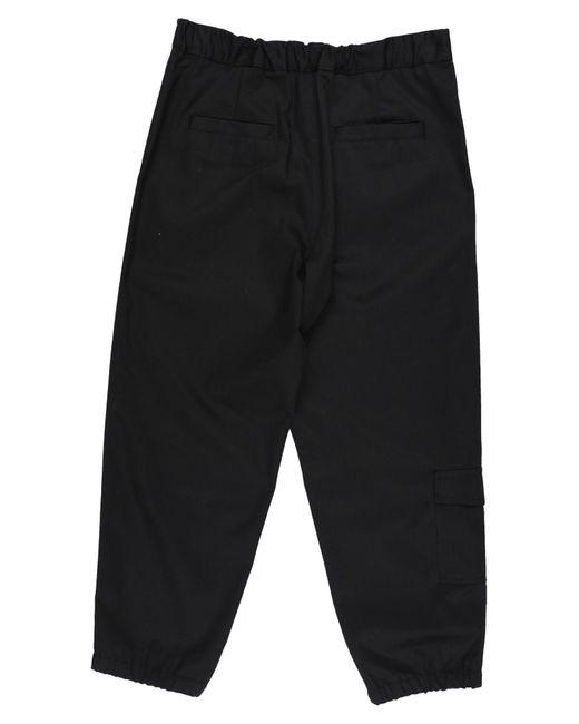 Covert Pantalon homme de coloris noir