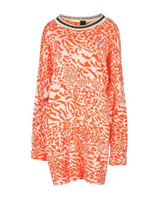 Bernhard Willhelm Orange Short Dress