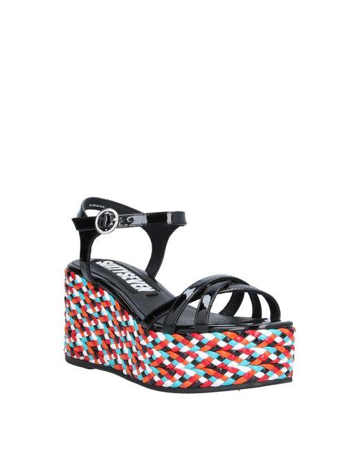 Sandales Sixtyseven en coloris Black